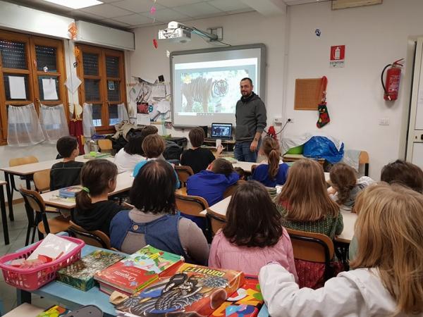 L'intervento LAV alla scuola primaria Montessori - Villa Paganini (Roma)