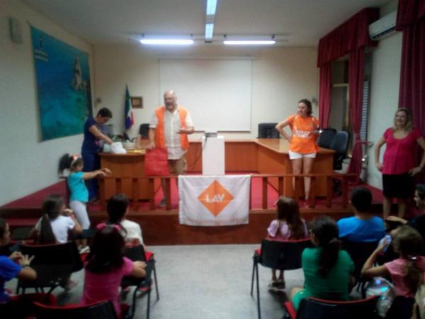 LAV Vibo Valentia con i bambini