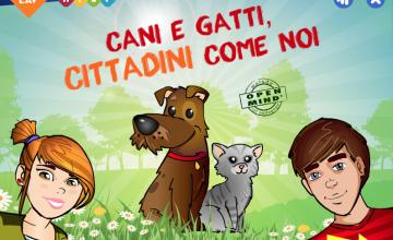 Cani e gatti, il progetto LAV in collaborazione con il MIUR