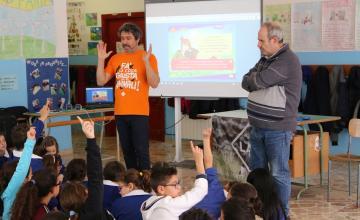 Migliaia di alunni ogni anno ricevono la visita di LAV in classe
