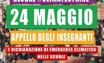 sciopero per il clima 24 maggio